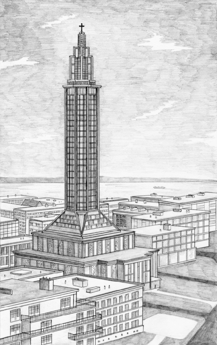 Architecture Interior Illustration