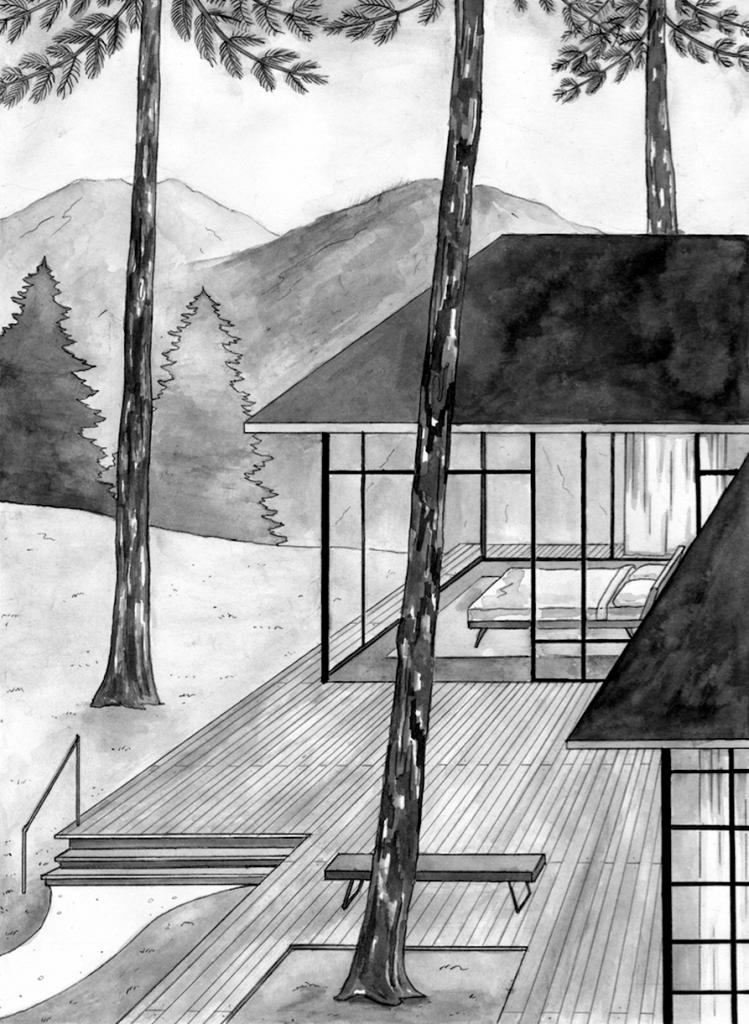 Architecture Interior Illustration Josephin Ritschel