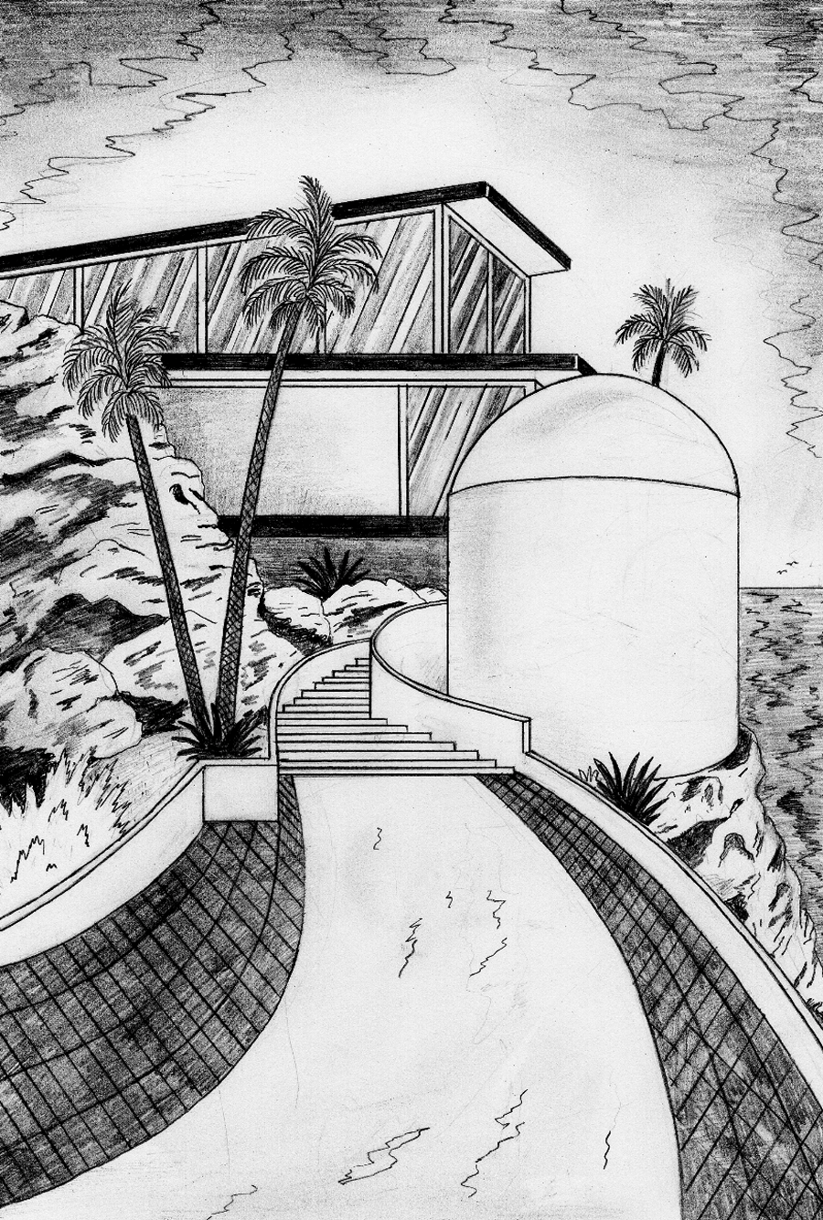 Architecture Interior Illustration Book Josephin Ritschel