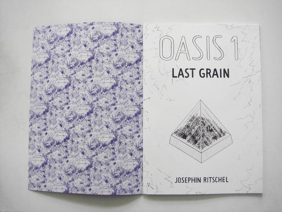 Architecture Interior Illustration Oasis Comic Josephin Ritschel